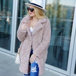 CHIC DOLLZ Faux fur Winter Trend Coat Jacket
